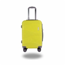 LIGHTWEIGHT & HARD CABIN SUITCASE WITH 8 WHEELS / EXTRA-THICK ABS LUGGAGES WITH MANY COLOR AND SIZE / ITEM CODE: 602