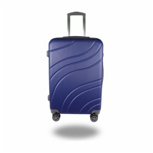 LIGHTWEIGHT & HARD CABIN SUITCASE WITH 8 WHEELS / EXTRA-THICK ABS LUGGAGES WITH MANY COLOR AND SIZE / ITEM CODE:606