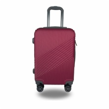 LIGHTWEIGHT & HARD CABIN SUITCASE WITH 8 WHEELS / EXTRA-THICK ABS LUGGAGES WITH MANY COLOR AND SIZE / ITEM CODE:803