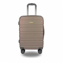 LIGHTWEIGHT & HARD CABIN SUITCASE WITH 8 WHEELS / EXTRA-THICK ABS LUGGAGES WITH MANY COLOR AND SIZE / ITEM CODE:200