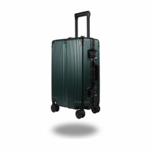 LIGHTWEIGHT & HARD CABIN SUITCASE WITH 8 WHEELS / SUPER STRONG PP LUGGAGES WITH MANY COLOR AND SIZE:610