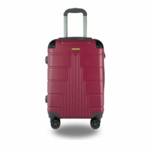 LIGHTWEIGHT & HARD CABIN SUITCASE WITH 8 WHEELS / SUPER STRONG PP LUGGAGES WITH MANY COLOR AND SIZE:880