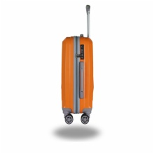 LIGHTWEIGHT & HARD CABIN SUITCASE WITH 8 WHEELS / SUPER STRONG PP LUGGAGES WITH MANY COLOR AND SIZE:D1