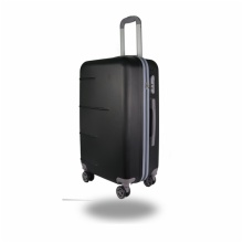 LIGHTWEIGHT & HARD CABIN SUITCASE WITH 8 WHEELS / SUPER STRONG PP LUGGAGES WITH MANY COLOR AND SIZE:G2-2