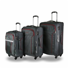 LIGHTEST 8 WHEELS SOFT CABIN SUITCASE:FABRIC 7301